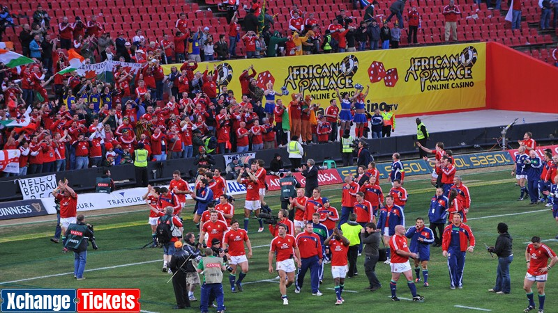 British & Irish Lions tour is on and will be played in front of fans