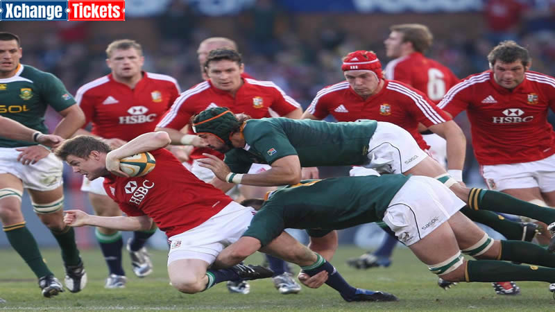 Johnny Sexton eager to face the Springboks for the Lions' third tour