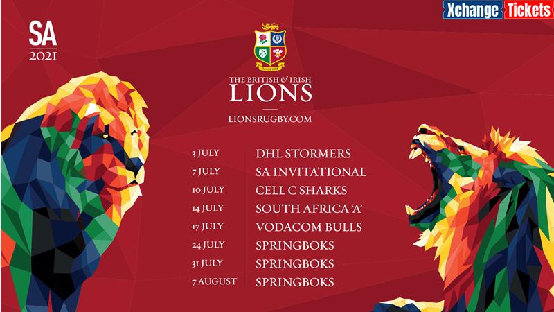 2021 British and Irish Lions tour endorsed