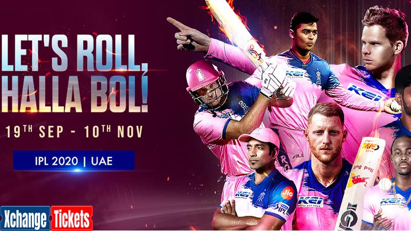 IPL Sharjah Tickes : Rajasthan Royals launch their own Digital Cricket Academy