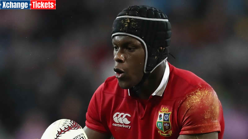 Selection of British and Irish Lions by Jim Hamilton in 2021