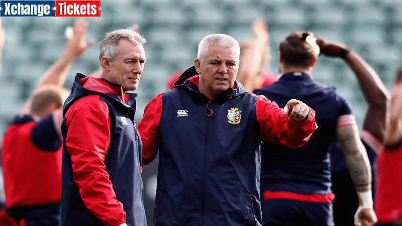 Warren Gatland says it would be difficult for Howley to join the British Lions coaching staff