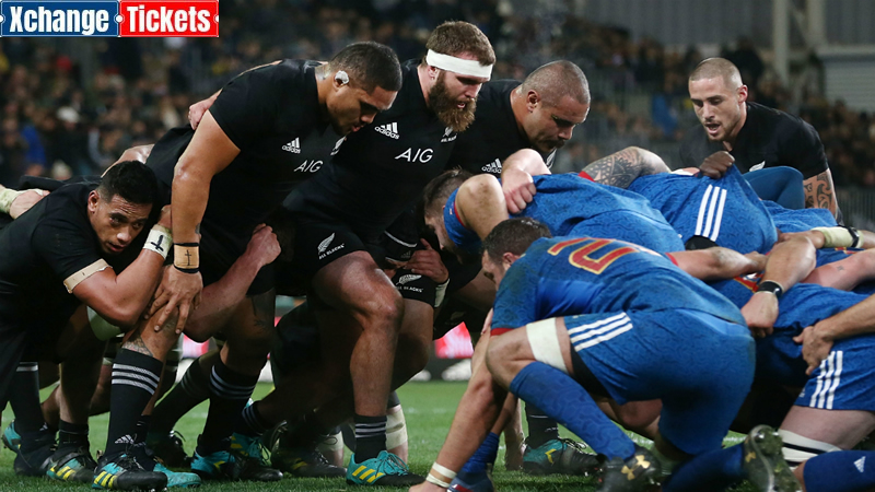 When France expects to play the All Blacks at RWC 2023